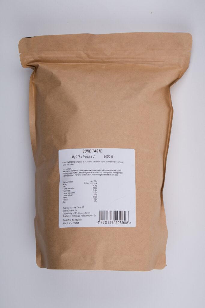 2 Kg Mjölkchoklad